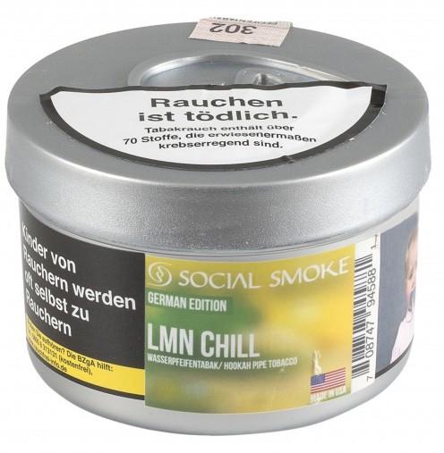 Social Smoke Tabak LMN Chill 100g Dose