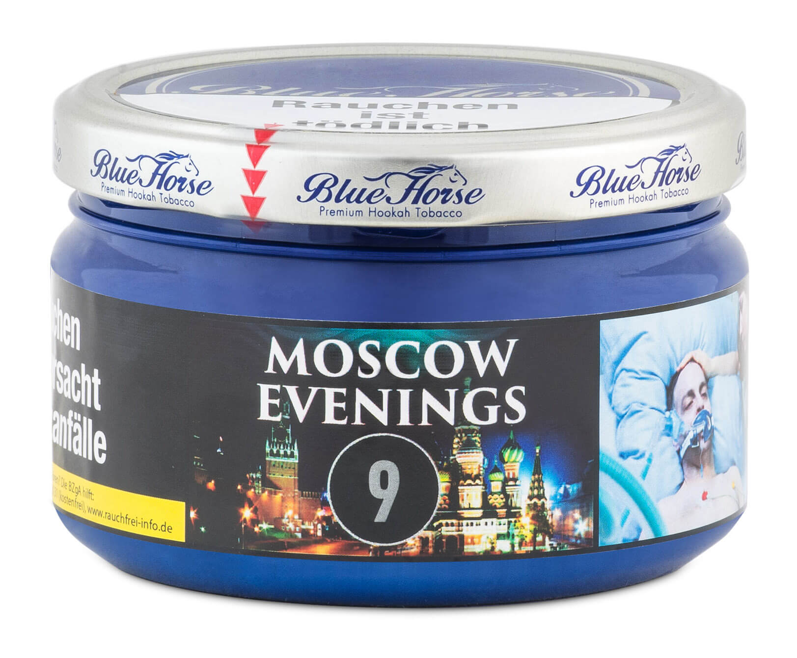 Blue Horse Tabak Moscow Evenings 200g