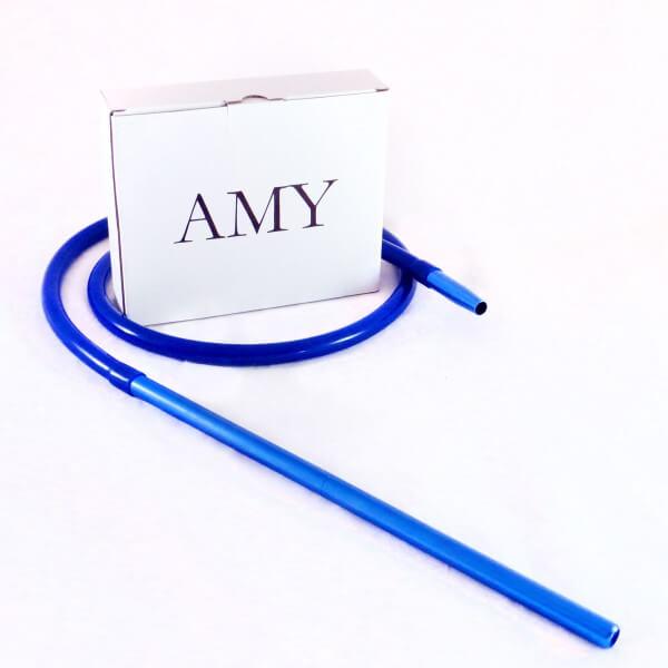 Amy Deluxe Schlauchset mit Alumundstück Blau