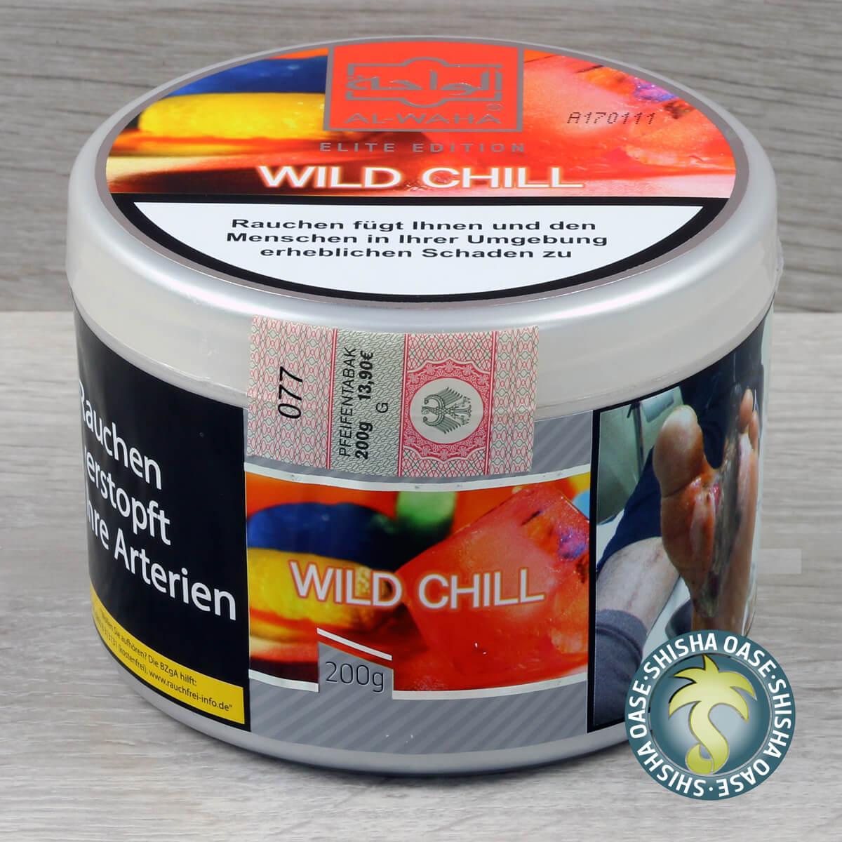 Al Waha Wild Berr Chill 200g Dose - rauchfertig