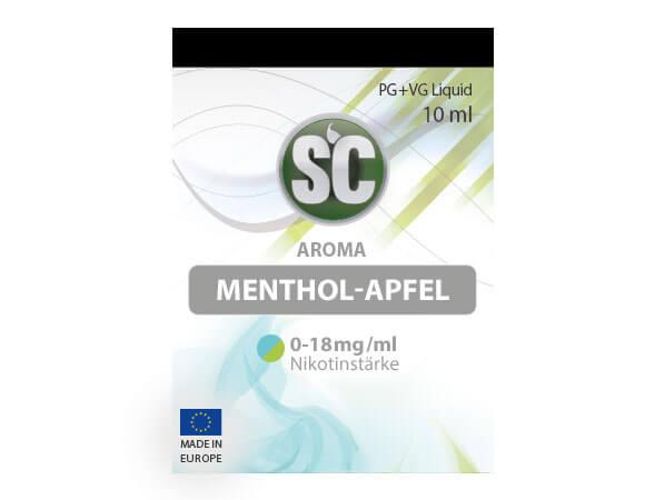 Menthol-Apfel Liquid (10ml) 0 mg/ml