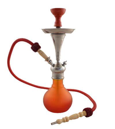 Aladin Shisha Bogota II ca. 48cm (rot-orange)