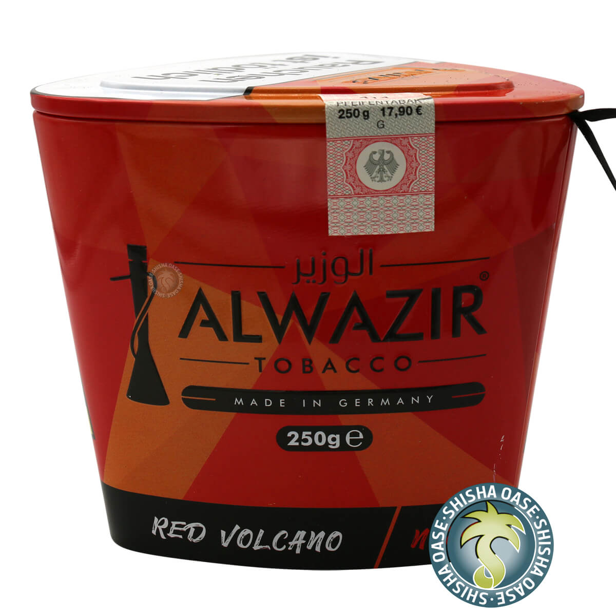 Al Wazir Tabak 250g Dose | Red Volcano No.24