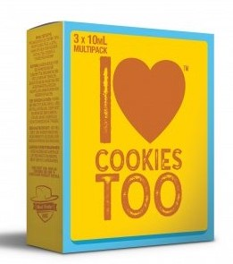 I Love Cookies too (3x10ml) - Mad Hatter Liquid - 0mg/ml