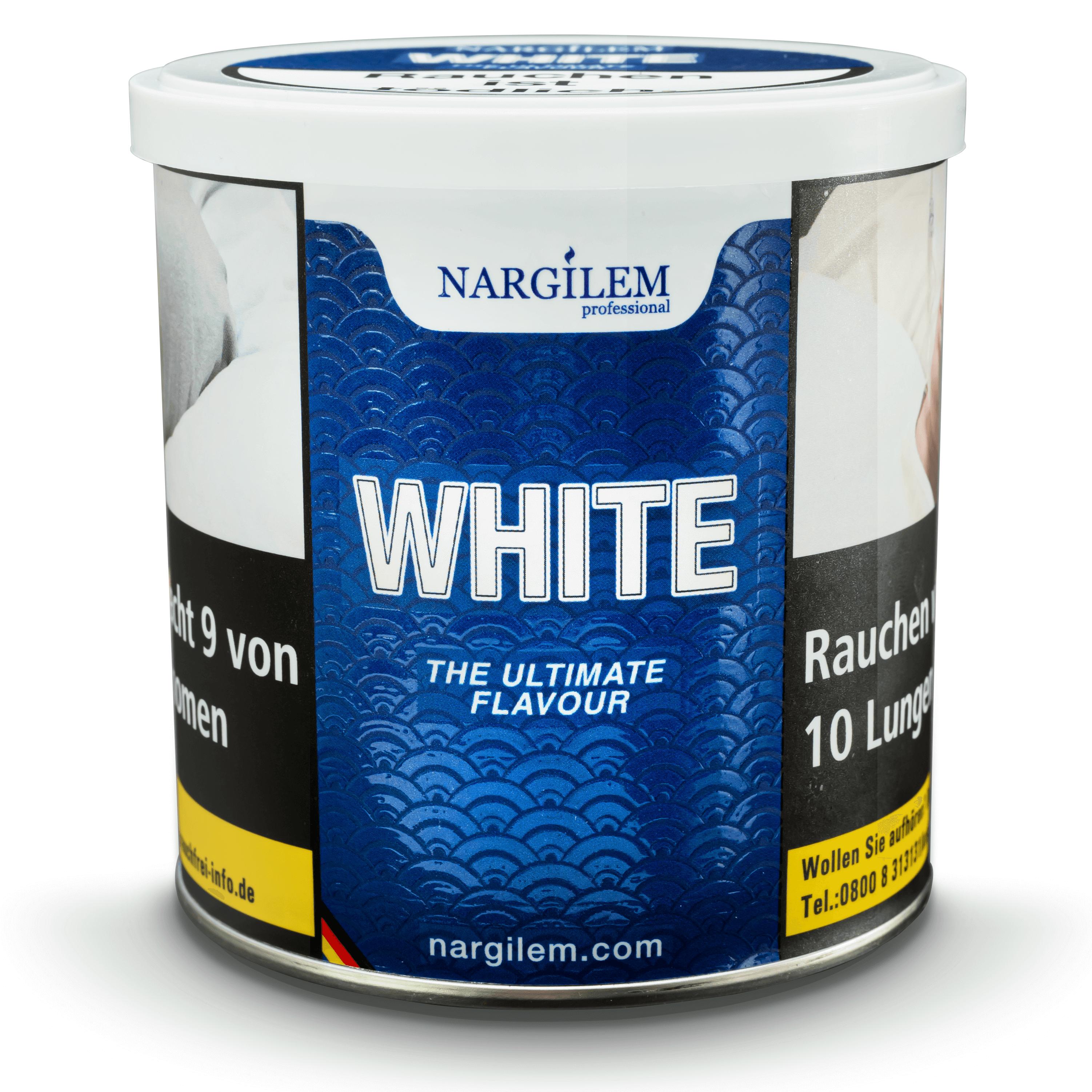 Nargilem Tabak White 200g