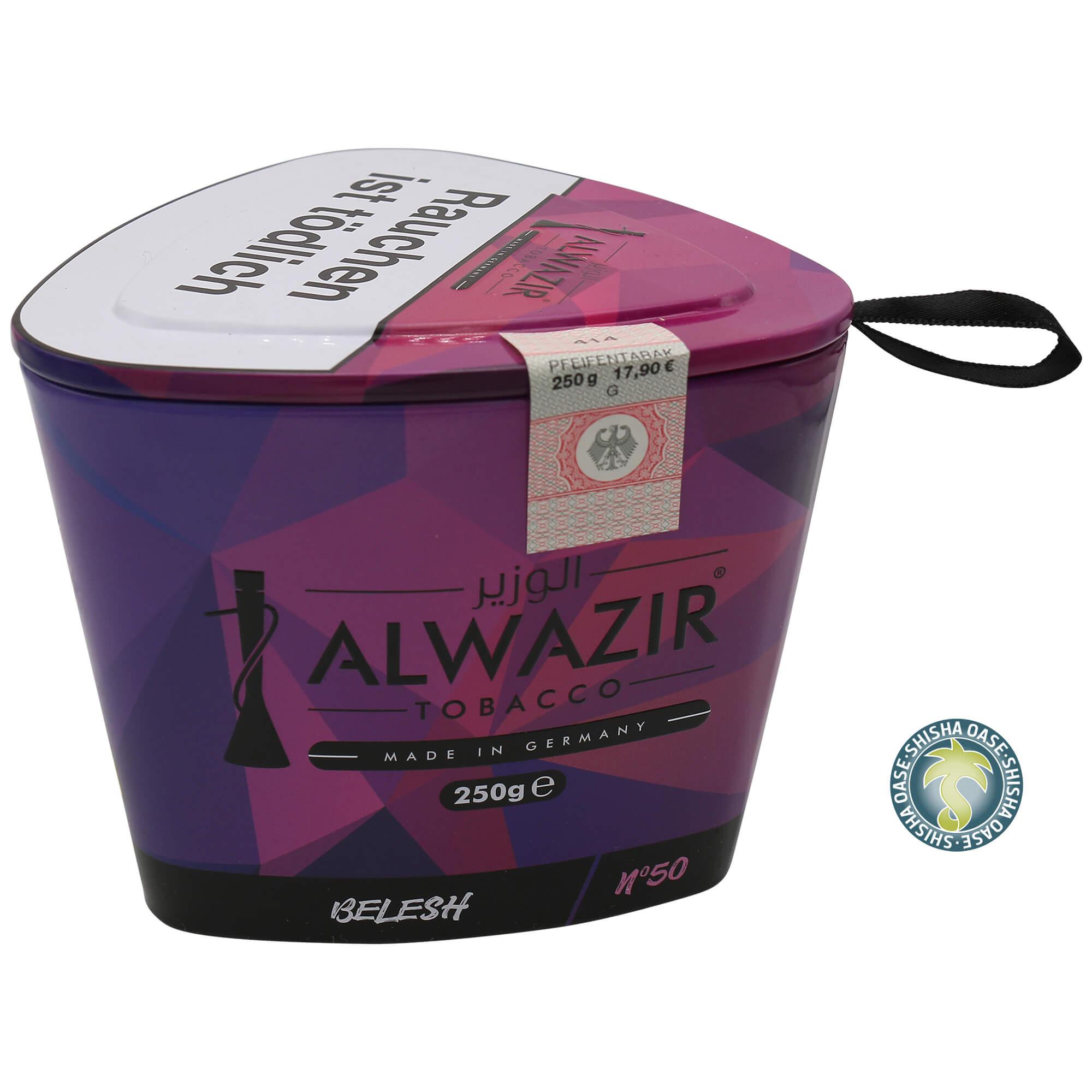 Al Wazir Tabak 250g Dose - Belesh No.50