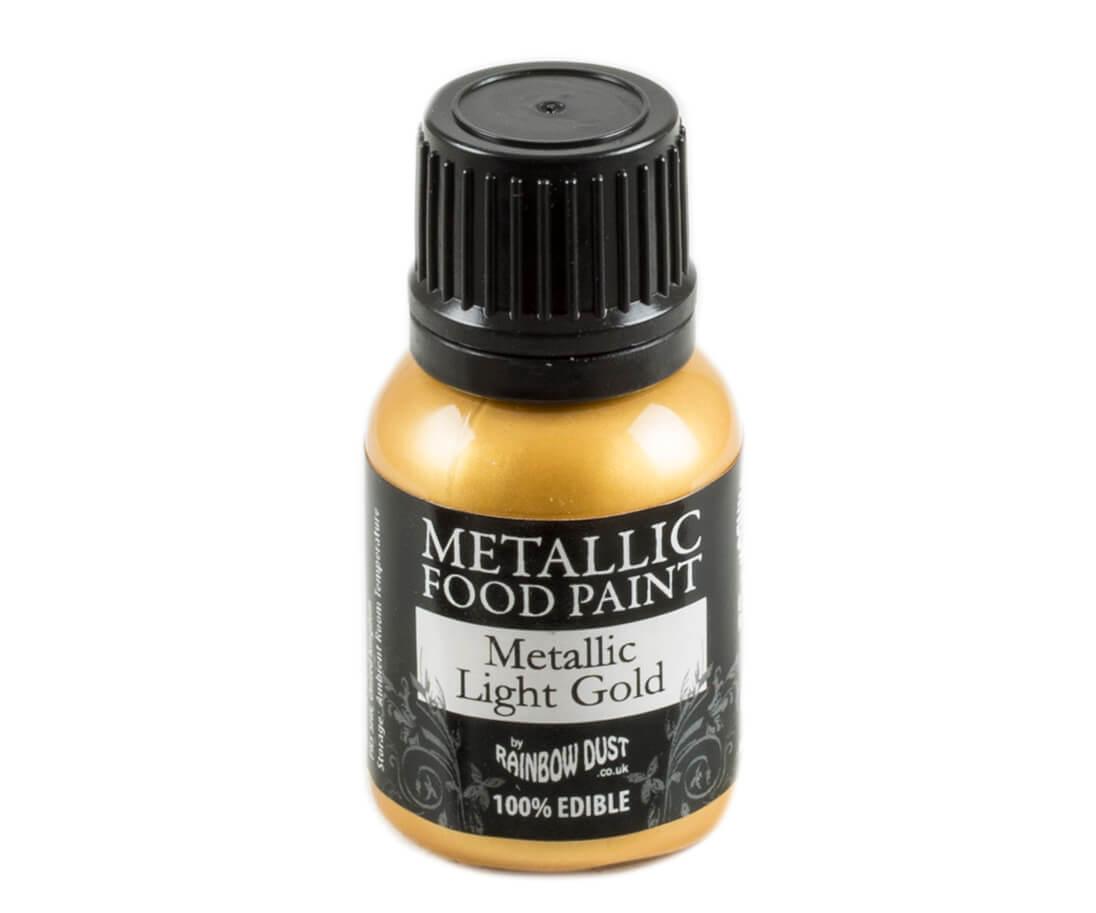 Rainbow Dust Metallic Farbe - Light Gold