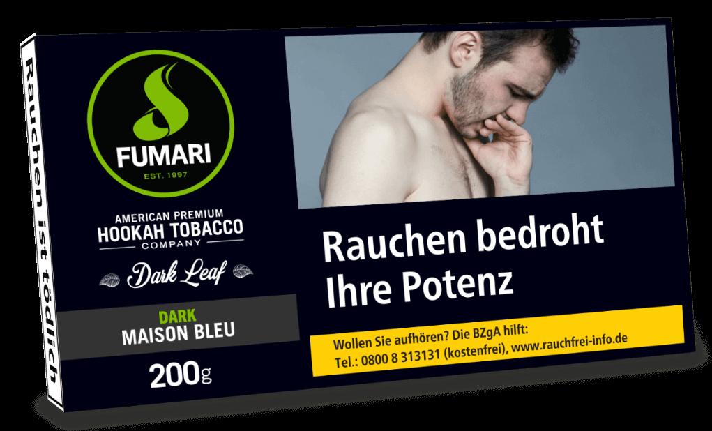 Fumari Tabak Dark Maison Bleu 200g