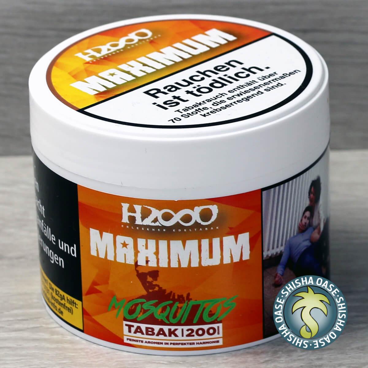 Hasso Tobacco Maximum Line 200g - Mosquitos