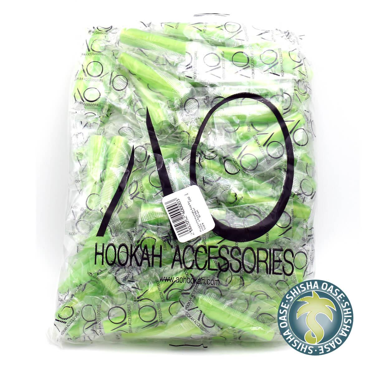 Hygienemundstücke | innen steckbar | 100 Stück | Grün