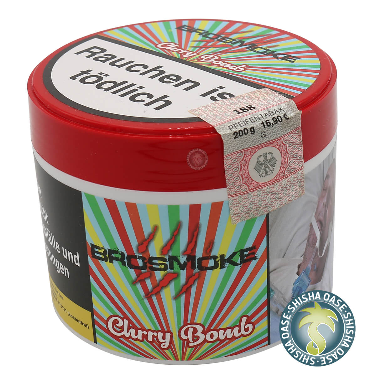Brosmoke Tabak 200g Dose | Chrry Bomb