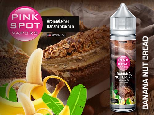 Pink Spot - Banana Nut Bread 50ml - 0mg/ml