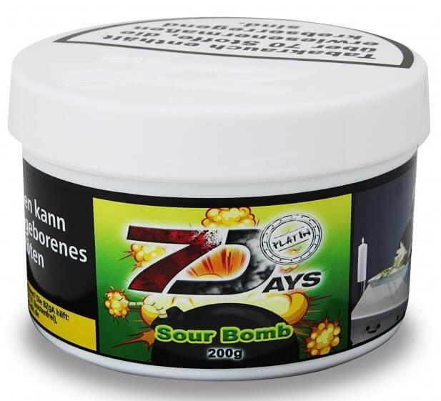 7 Days Platin Tabak - Sour Bomb 200g