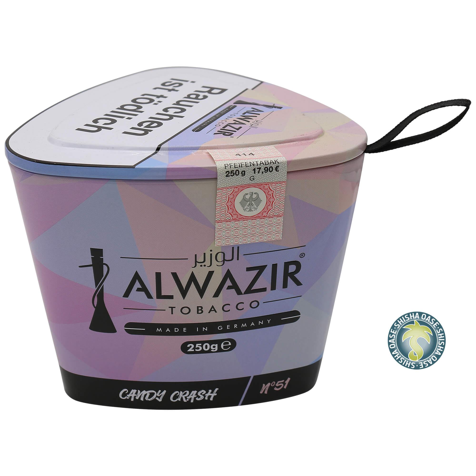 Al Wazir Tabak 250g Dose - Candy Crash No.51