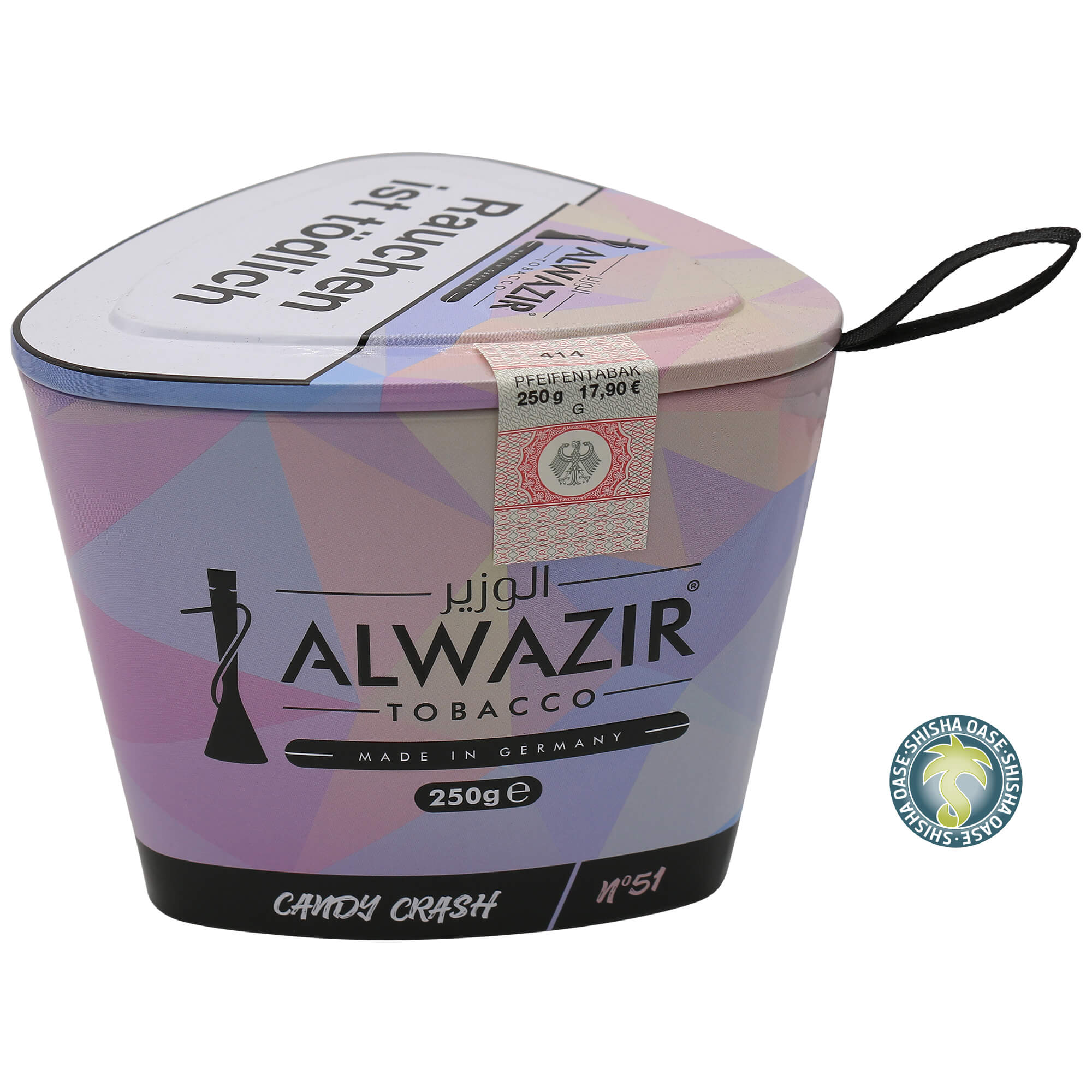 Al Wazir Tabak 250g Dose - Candy Crash No.51