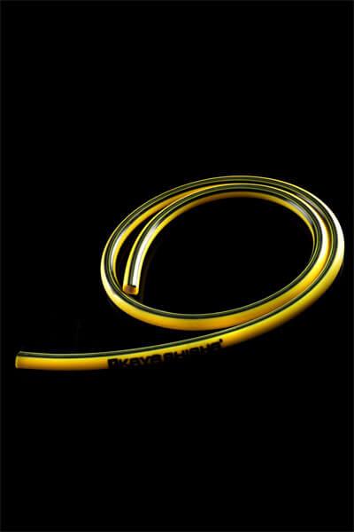 Silikonschlauch Stripes (Gelb)