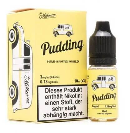 Pudding (3x10ml) - The Milkman Liquid - 6mg/ml