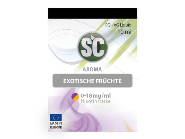 Exotische Früchte Liquid (10ml) 3 mg/ml