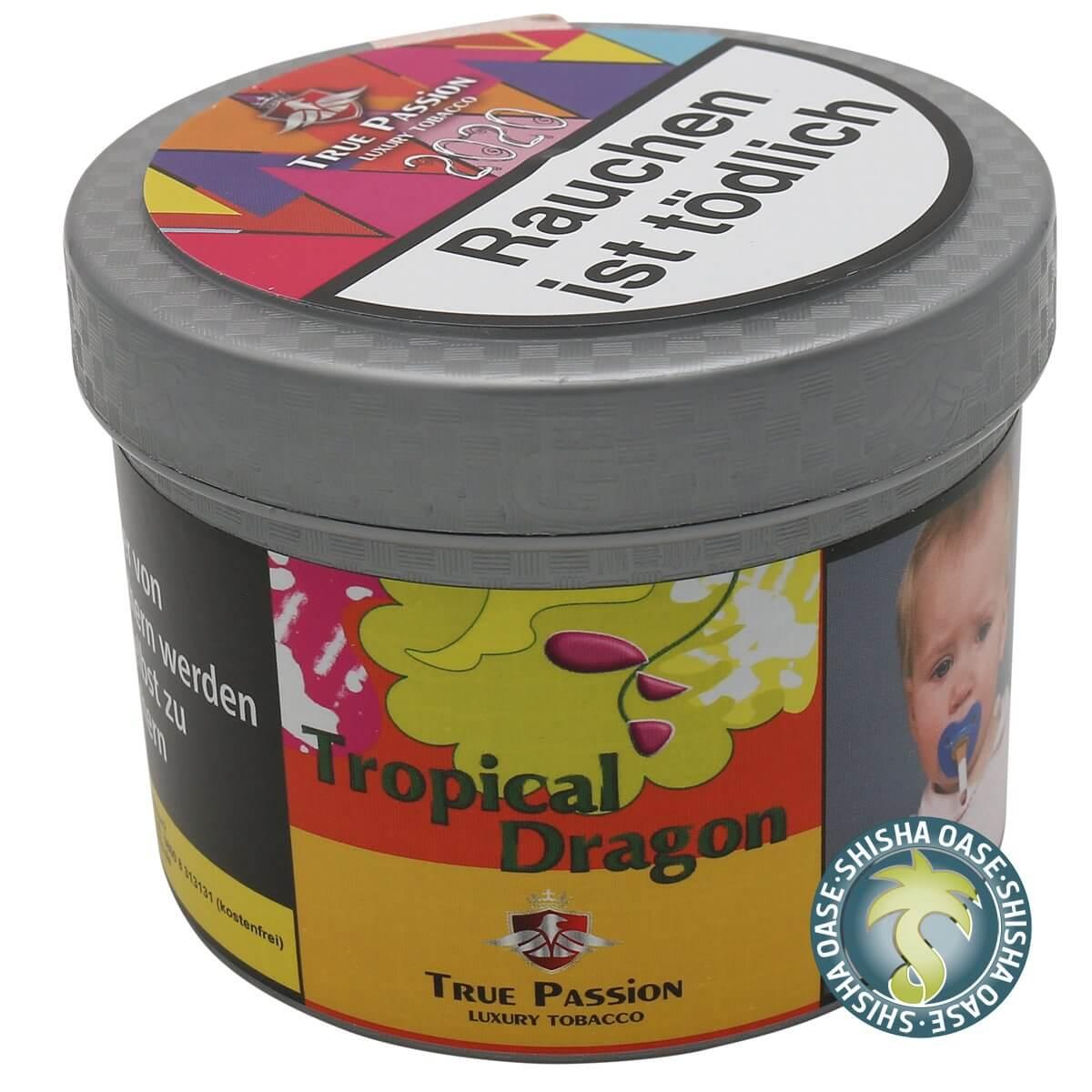 True Passion Tabak 200g Dose | Tropical Dragon