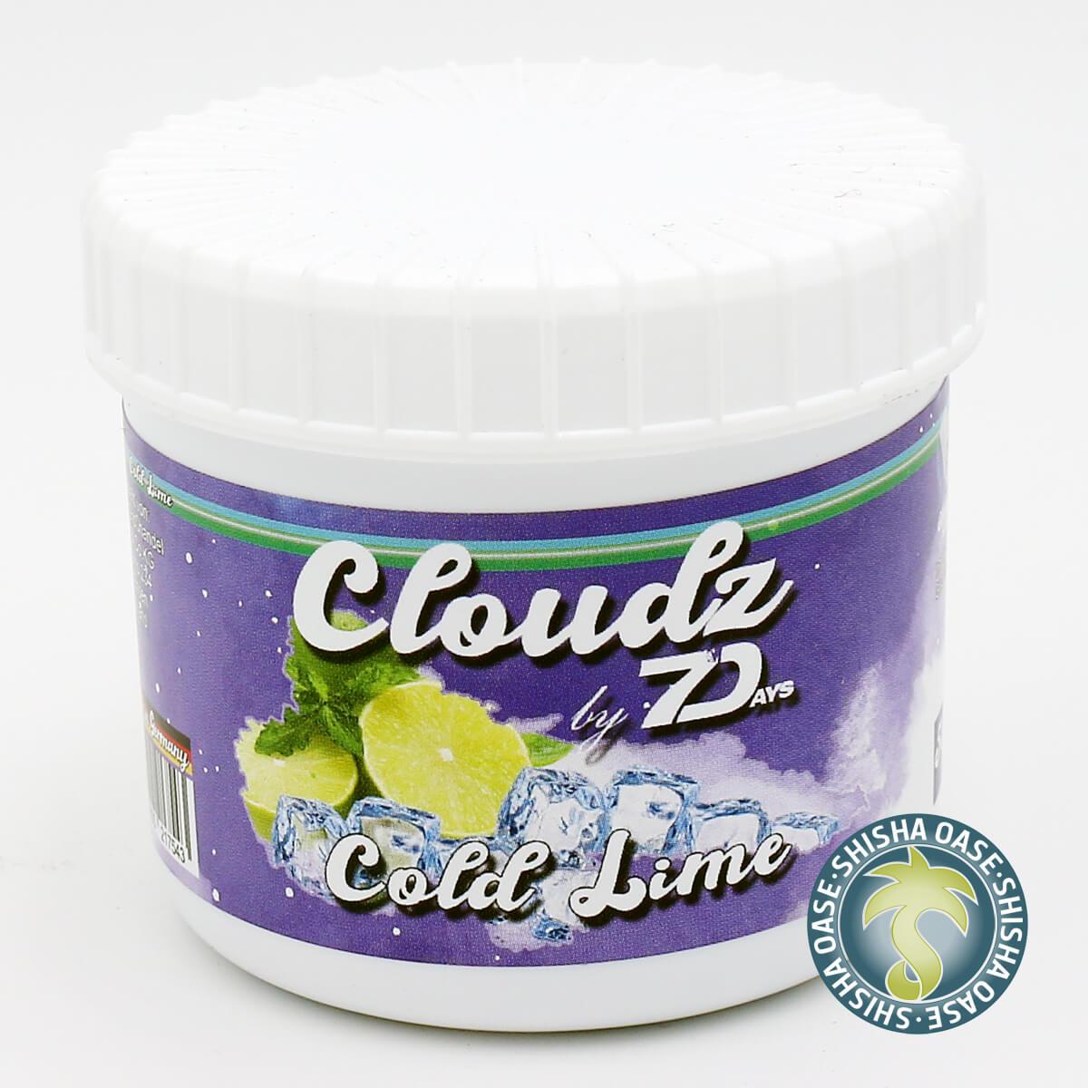 Cloudz by 7 Days Dampfsteine 50g | Cold Lime