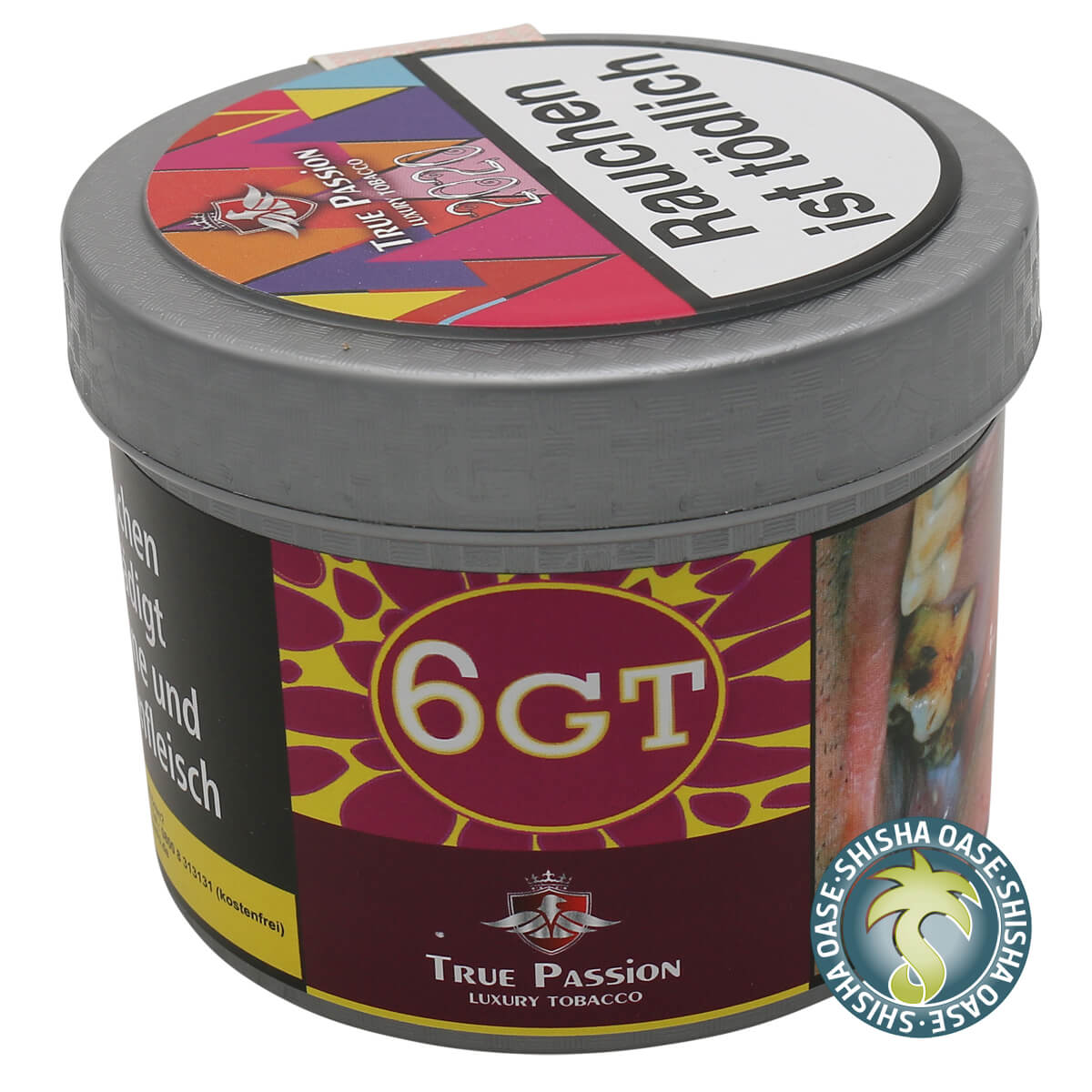 True Passion Tabak 200g Dose | 6GT