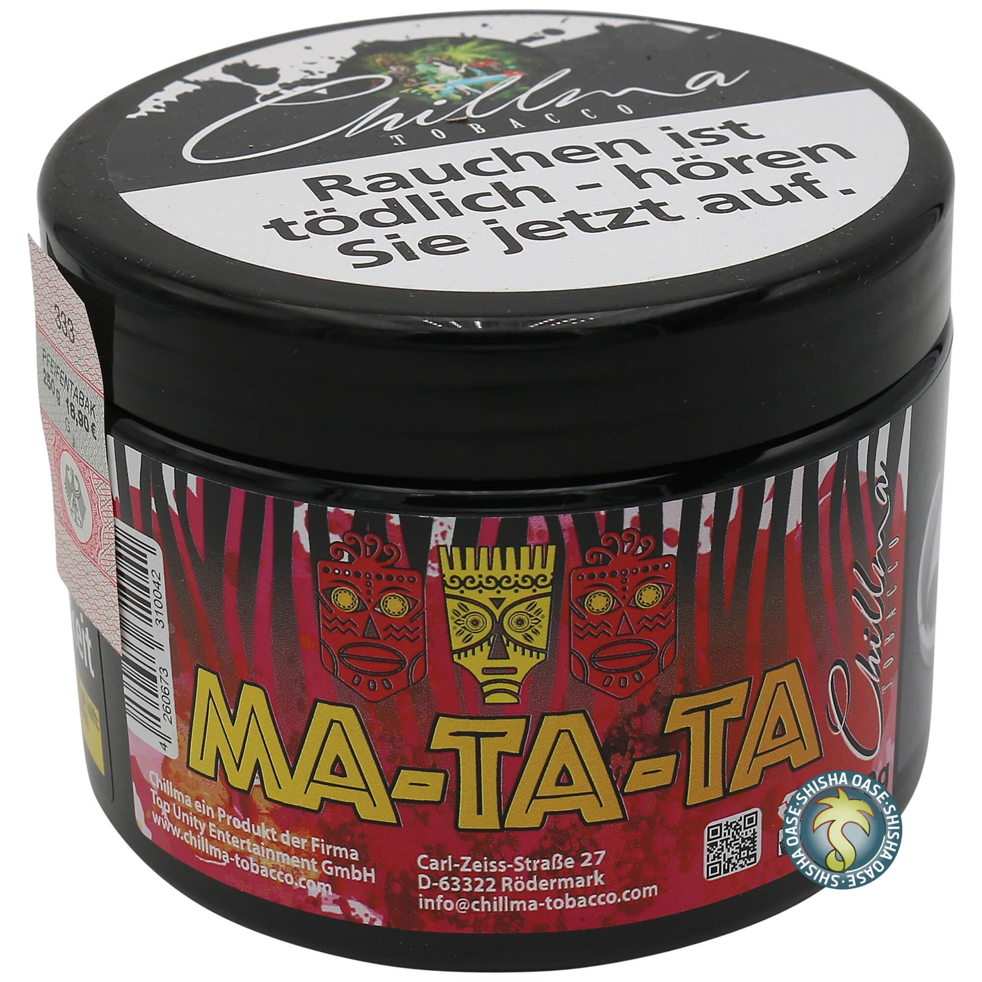 Chillma Tobacco Ma-ta-ta 250g