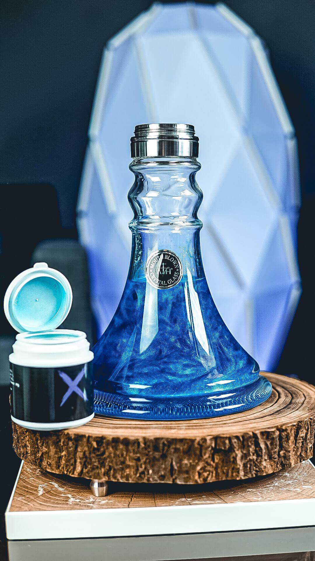Xschischa Sparkles 50g | Blue Sparkle