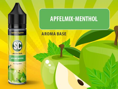 SC Vape Base - Apfelmix-Menthol 50ml - 0mg/ml