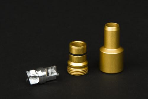 UNITY Schlauchadapter - gold