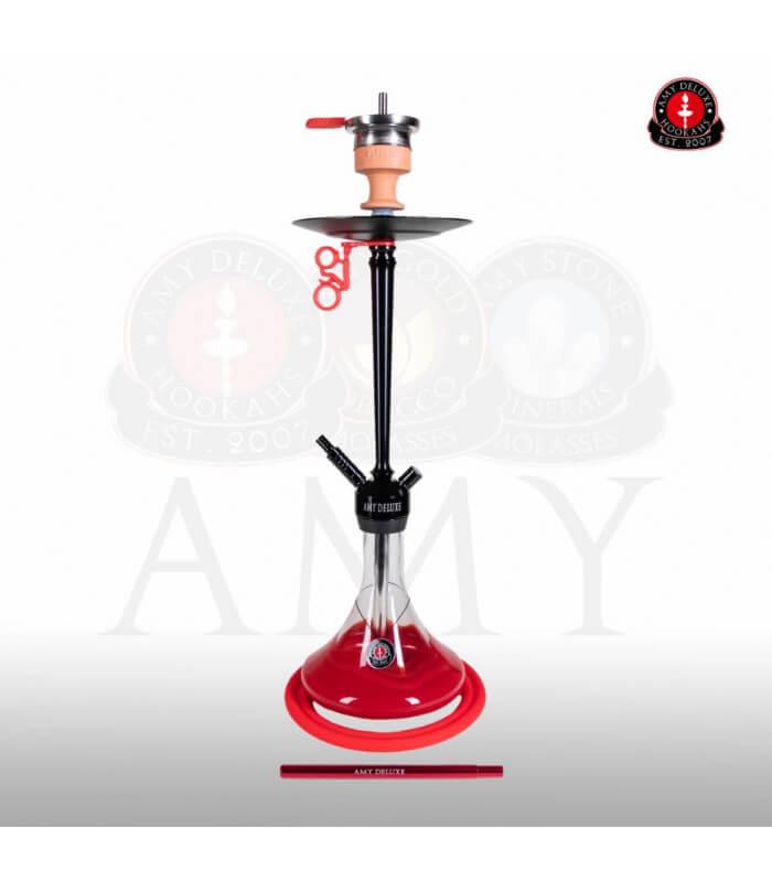 Amy Alu Deluxe Klick 066 (RS Schwarz / Farbe Rot)