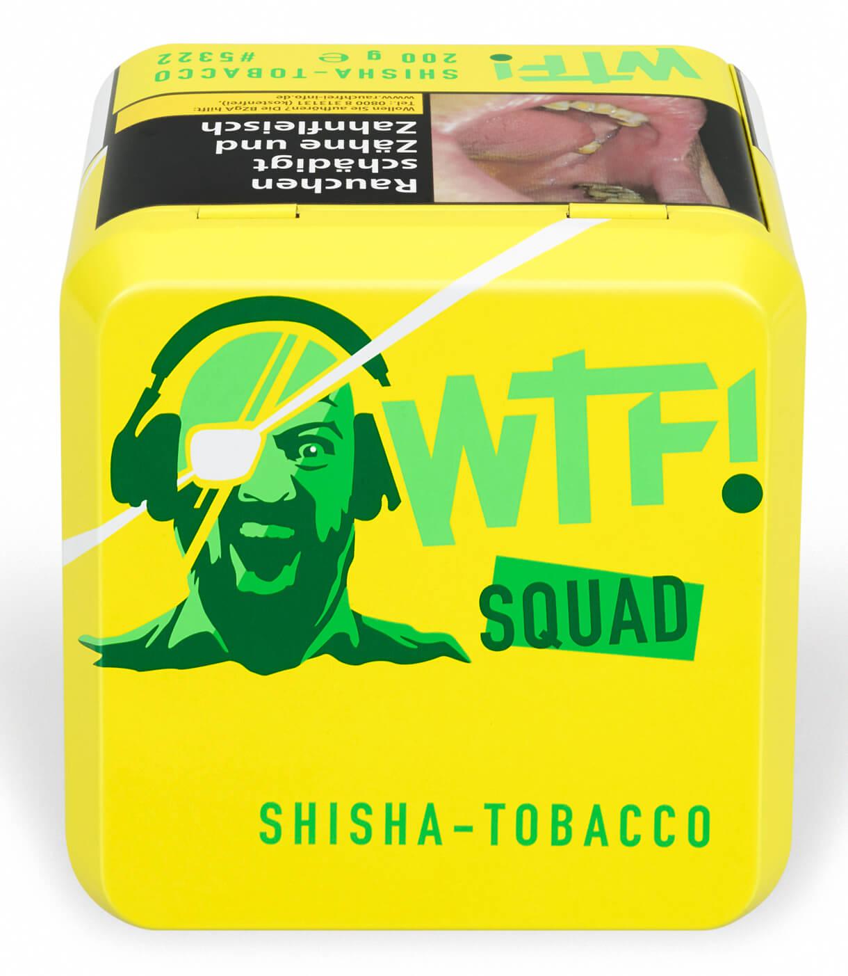 WTF Tabak Squad 200g