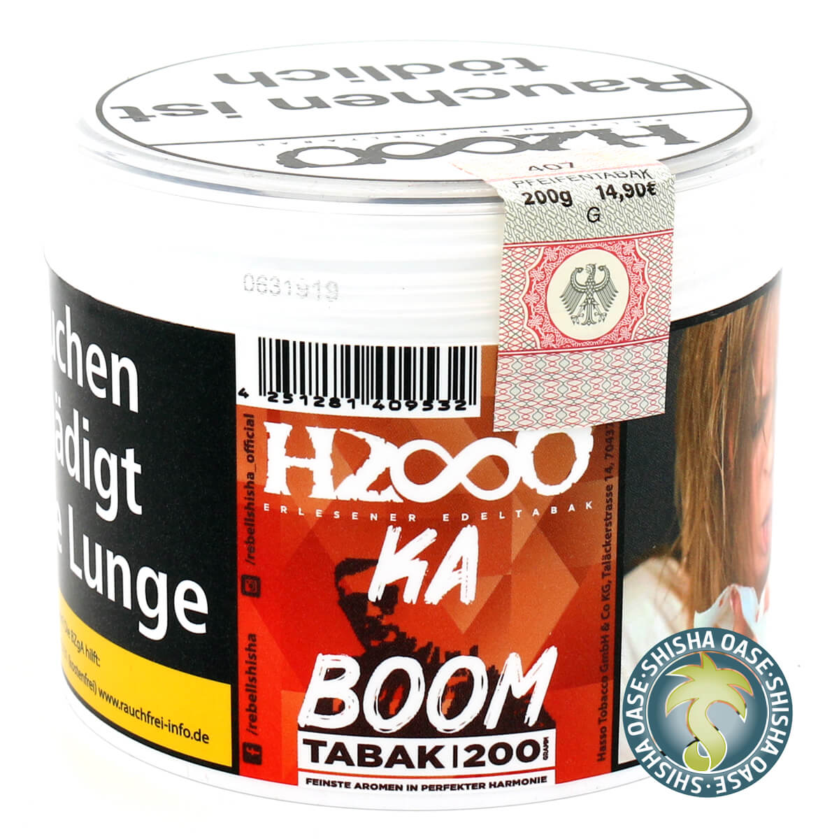 Hasso Tabak - Classic Line 200g - Ka Boom