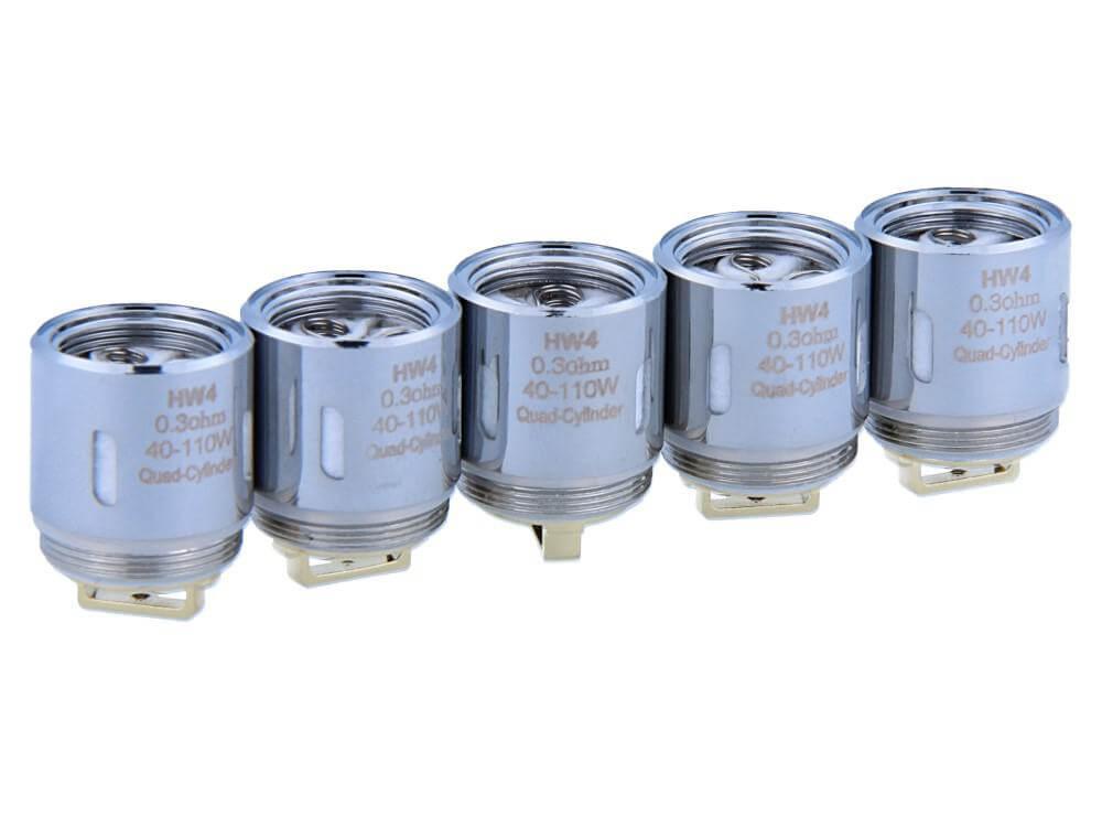 SC HW4 Heads 0,3 Ohm (5 Stück pro Packung)