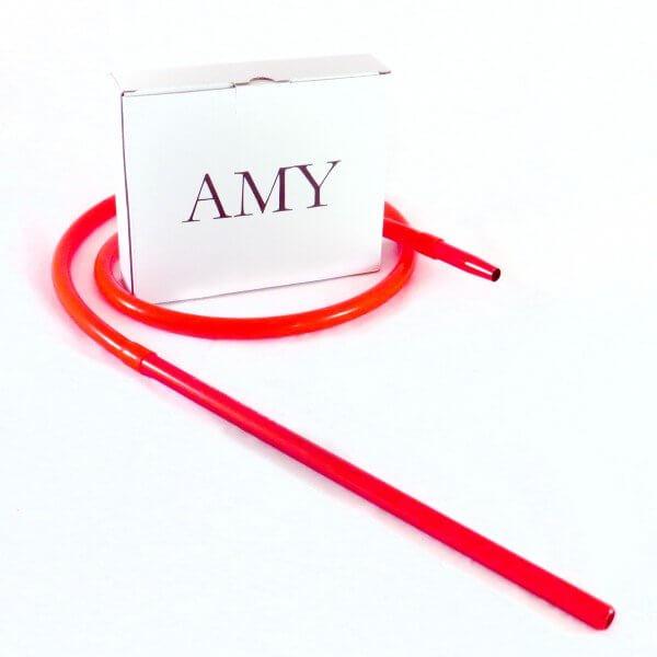 Amy Deluxe Schlauchset mit Alumundstück Rot (Matt)