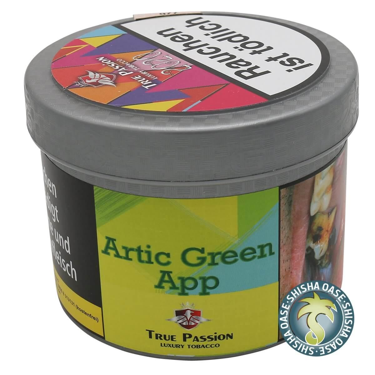 True Passion Tabak 200g Dose | Artic Green