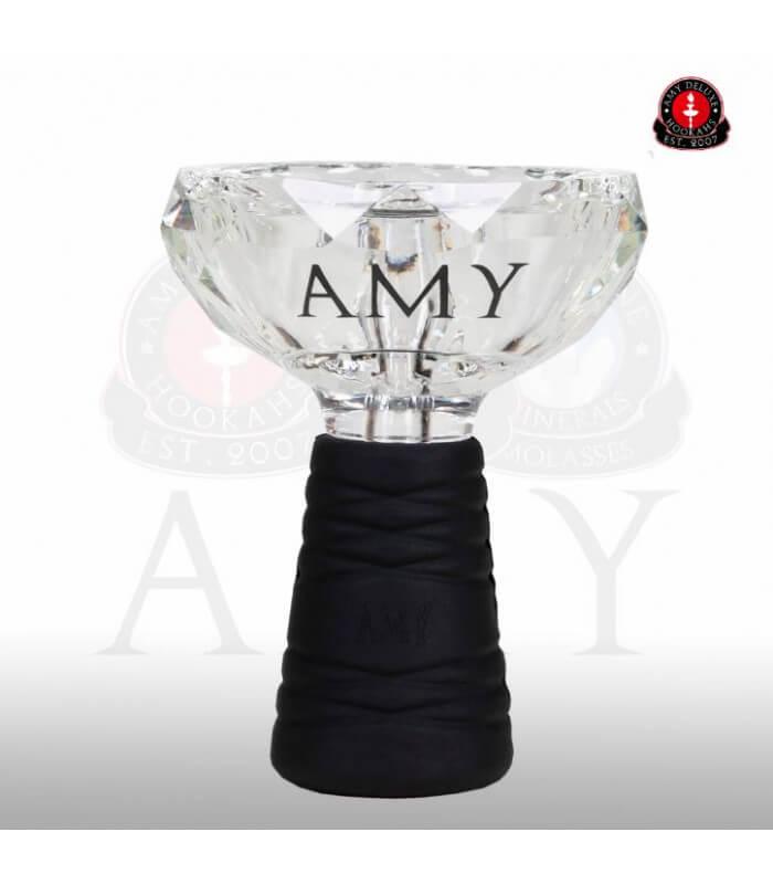 Amy Deluxe GlasSi Kristall Set mit Heatmanagement - Weiß