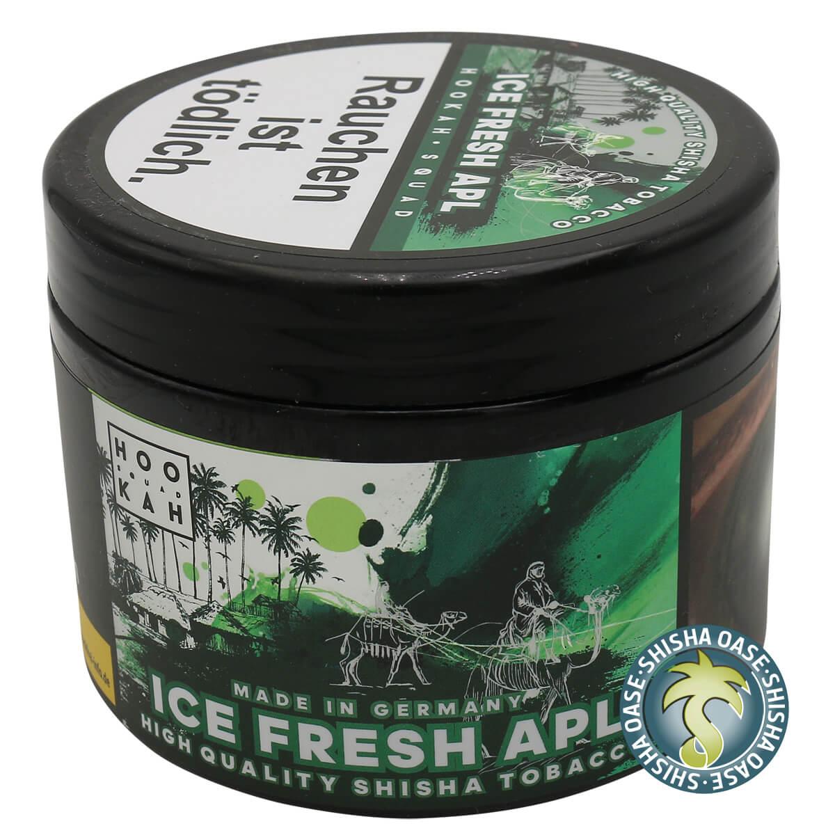 Hookah Squad Tabak 200g | Ice Fresh Apl