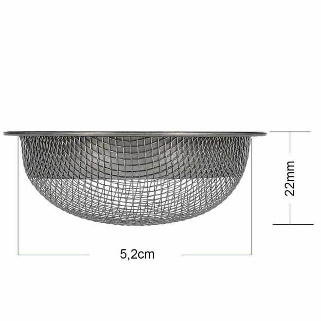 AO Strainer Kopfsieb Pro 22 mm