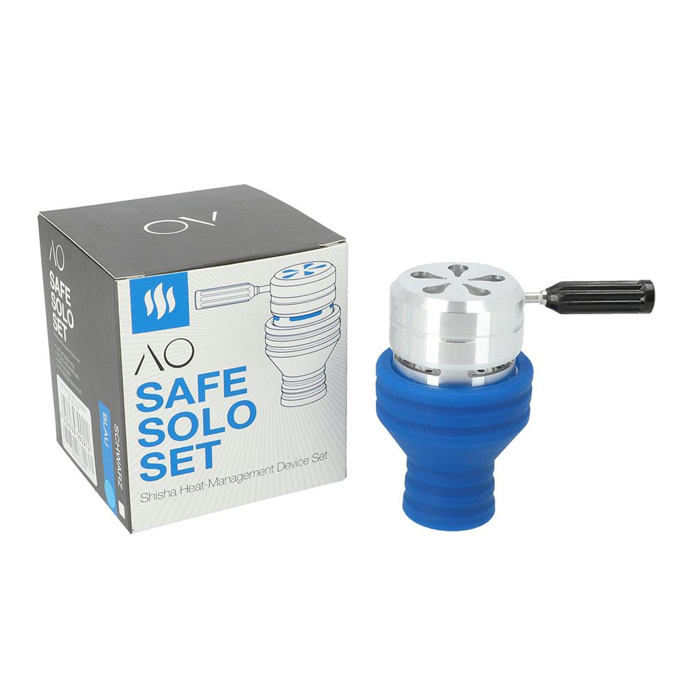 AO Safe Solo Silikon Set (Blau)