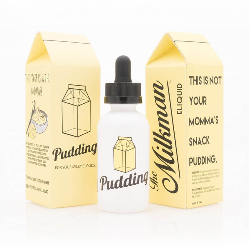 The Milkman - Pudding 50ml - 0 mg/ml