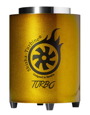 Shisha-Turbine Kohleanzünder - Gold Edition - Turbo Anzünder