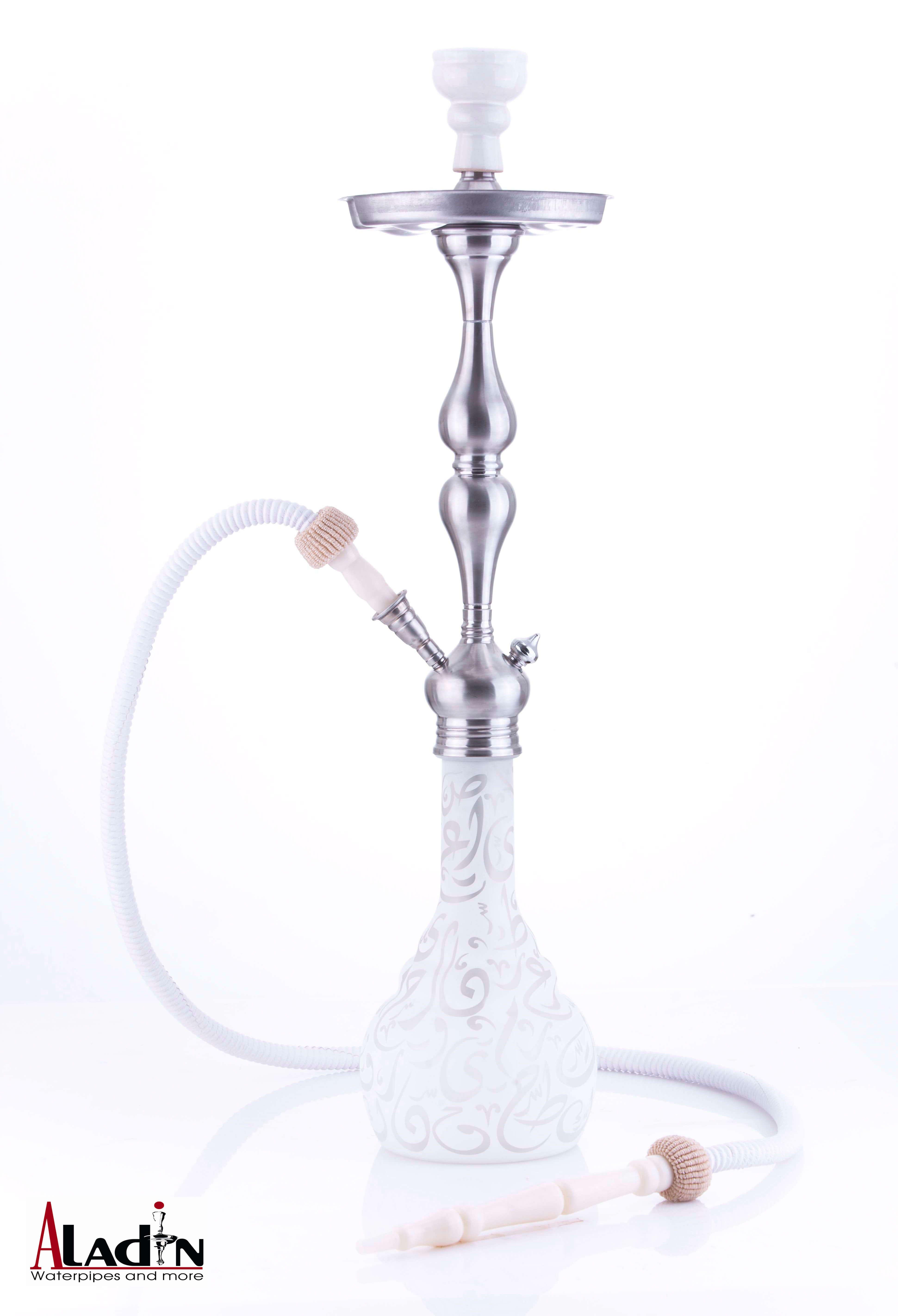 Aladin Shisha Istanbul ca. 77cm (weiß)