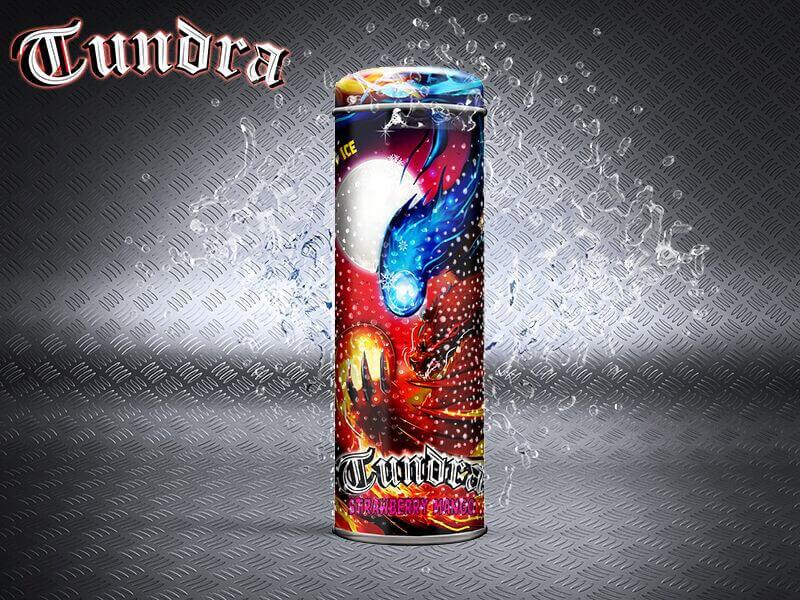 Fizzy Juice - Tundra - Strawberry Mango - 55ml - 0mg/ml