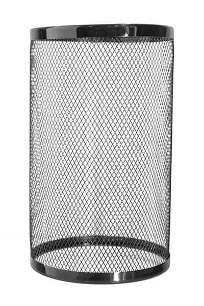 Kaya Windschutz Gitter (Schwarz)