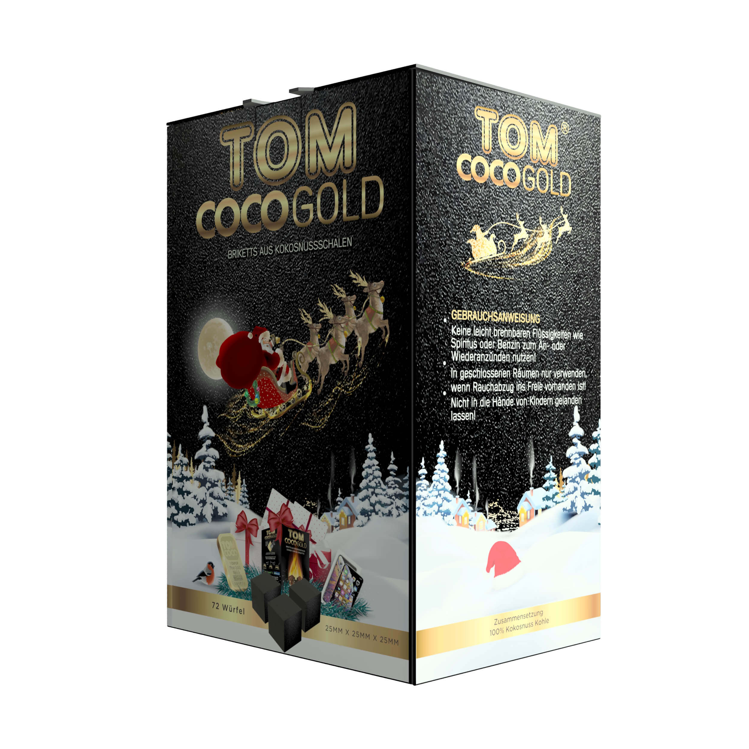 TOM Cococha Gold   1kg Weihnachtsedition