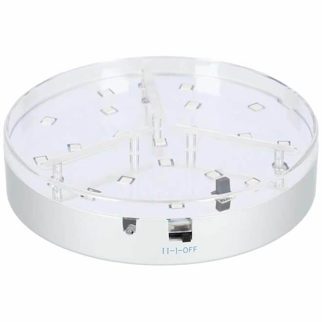 Eclipse LED Untersetzer mit Lautsprecher 20cm