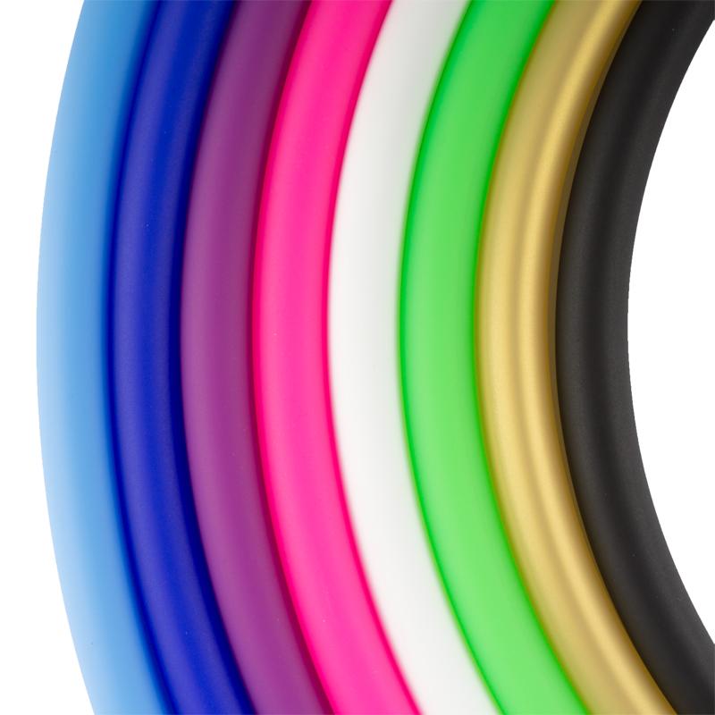 Silikonschlauch Soft Touch Matt (Neon Pink)