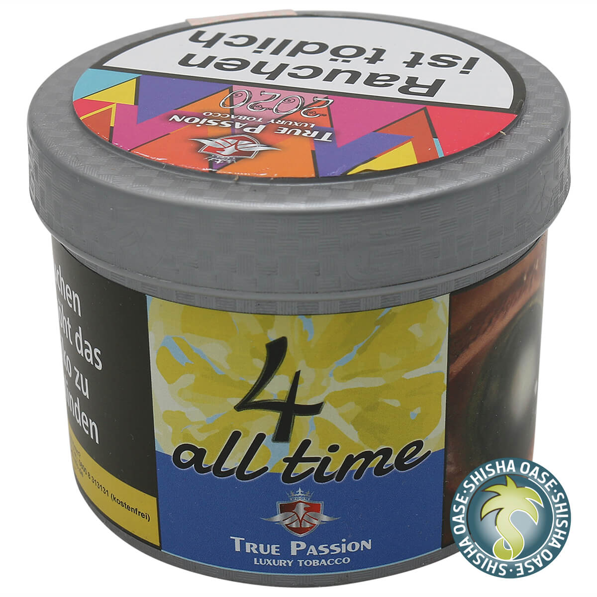 True Passion Tabak 4all Time 200g