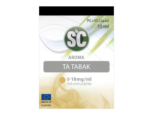 Taste of America Tabak Liquid (10ml) 0 mg/ml