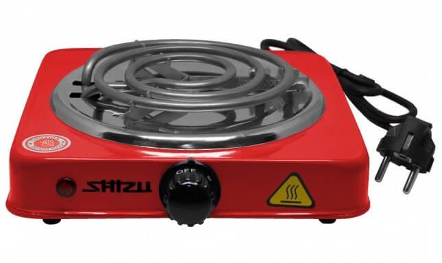 ShiZu - Kohleanzünder (elektrisch) | Rot
